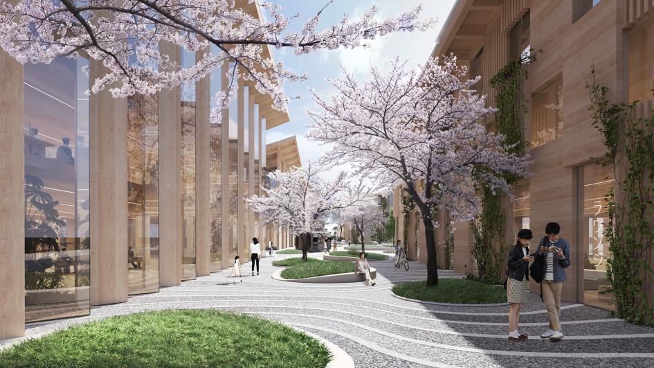 У подножия горы Фудзи построят автономный город будущего