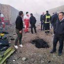 Все пассажиры рухнувшего в Иране украинского самолета погибли