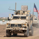 Американские военные в Сирии направились к границе с Ираком