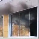 В МЧС назвали предварительную причину пожара в казанском лицее №186