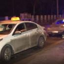 В Казани водитель с ножевым ранением устроил ДТП