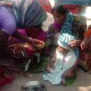 Годовалого ребенка женили на собаке