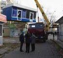 В Киеве активно демонтируют МАФы