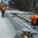 Обнародовали новое видео ремонта Борщаговского путепровода