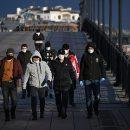 Выходивших из дома москвичей подсчитали