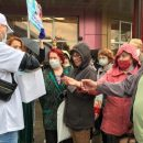 В Зеленодольске бесплатно раздавали медицинские маски. На акцию людей приглашали заранее