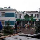 В Татарстане сильным ветром снесло крышу детского сада