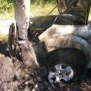 Смертельная авария в Татарстане: водитель врезался в столб и сгорел заживо