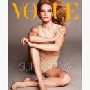 Наталья Водянова попозировала в откровенном наряде для обложки Vogue