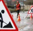 На съездах с Шулявского моста ограничили движения транспорта на 3 дня