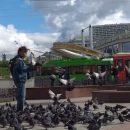 В Казани продолжаются протесты: на Баумана снова
