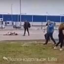 В соцсетях появилось видео со сбитой около Туры женщиной