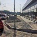 Тротуар превратился в парковку в Святошинском районе