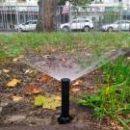 На Русановке построили насосную станцию, которая поливает газоны на всей набережной