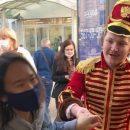 В соцсетях обсуждают бравого гусара появившегося в центре Казани