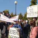 В Казани прошел митинг против строительства трассы М-12
