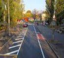 На улице Академика Белецкого появилась велодорожка и парковка