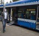 На левом берегу будут курсировать новые трамваи (видео)