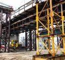 Киевлянам показали новое видео со строительства Подольского моста