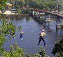 Киеве ищет инвестора для строительства аттракциона в виде канатной дороги через Днепр