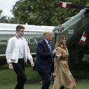 Сын Трампа переболел коронавирусом