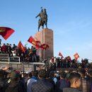 Протестующие в Киргизии назначили нового мэра Бишкека