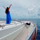 14-летняя дочь российского режиссера снялась в день рождения на роскошной яхте