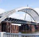 Обнародовали новое видео строительства Подольского моста