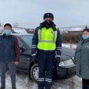 Сотрудникам ГИБДД на трассе Татарстана пришлось принимать роды