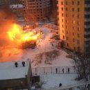 Соцсети: в Казани горит еще один деревянный дом