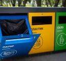 В Киеве благодаря спецконтейнерам отсортировали тонны мусора