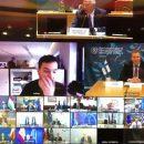 Журналист проник на секретную видеоконференцию министров обороны ЕС и прервал ее