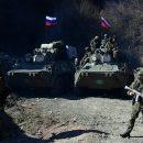 Российские миротворцы установили 25 постов для контроля ситуации в Карабахе