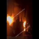 Соцсети: в казанском поселке вспыхнул сильный пожар
