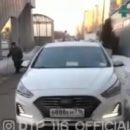 Автохамство в Казани: водитель пытался срезать путь и поехал по тротуару