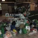 «Общество потребления»: казанцы жалуются на переполненные мусорки