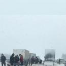 Одни разбиты, другие в кювете: с десяток аварий засняли сегодня на трассах Татарстана