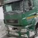 Жители Татарстана подкармливали дальнобойщика из Тюмени, который сутки просидел в грузовике