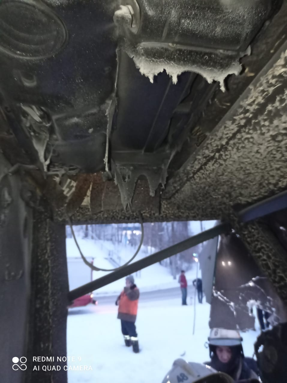 В казани сгорел трамвай