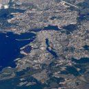 «Казань – третья столица России»: космонавт выложил снимок Казани с борта МКС