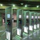 На станции метро «Харьковская» обновили турникеты