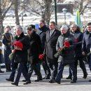 Володин и Матвиенко возложили цветы к Могиле Неизвестного Солдата