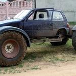 Такого второго нет: в Татарстане умельцы продают самодельный вездеход, сделанный из