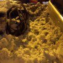 Авто маленькое, а горит солидно: 14 человек тушили в Казани горящую