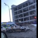 В Казани около Ак Барс Арены произошла серьезная авария с участием такси