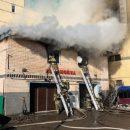 Очевидцы: в Казани на Адоратского горит автомойка