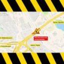 Между Демеевской и Лыбидской площадям ограничили движение до середины апреля (схема движения)