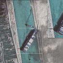 Рогозин опубликовал снимок Суэцкого канала из космоса