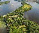 В Киеве построят пешеходный мост с острова Оболонский в направлении улицы Приречной