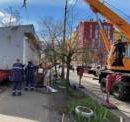 В Днепровском районе продолжают убирать МАФы, несмотря на сопротивление